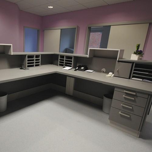 Praxistheke & Schreibtisch